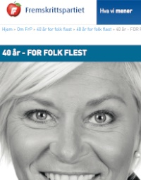 Siv Jensen. For folk flest?